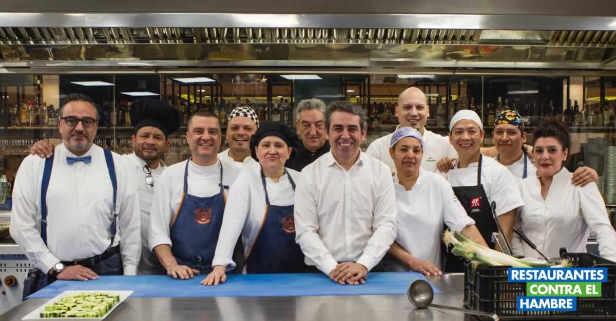 10ª Edición de Restaurantes Contra el Hambre