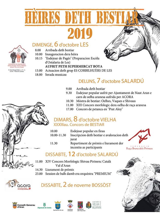 Ferias ganaderas Val d'Aran