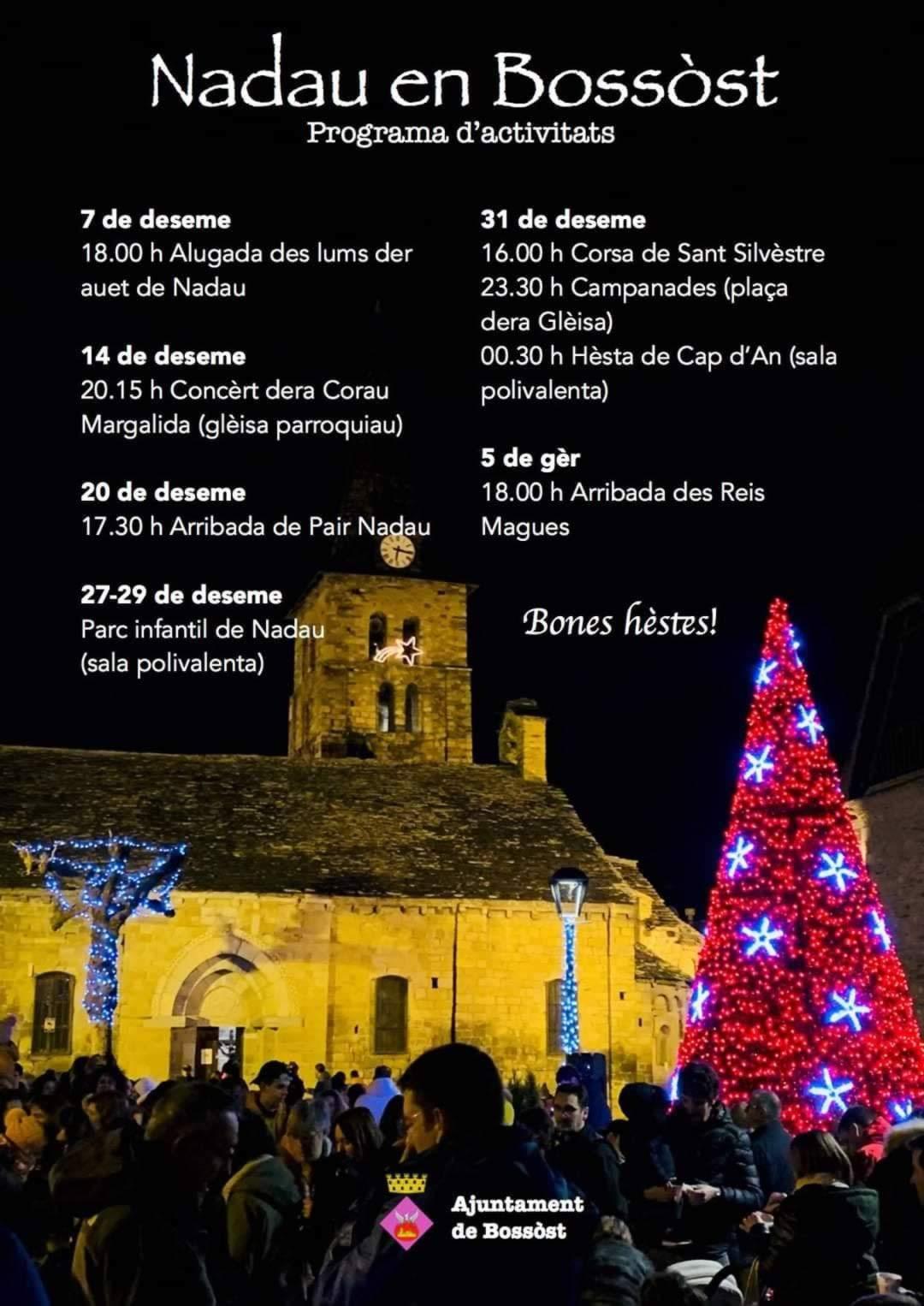 Actividades durante las navidades en Bossòst